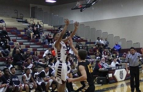 Varsity Boys Basketball outshot by Gilbert Christian