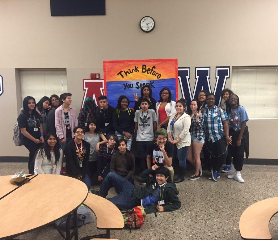GSA members meeting after school