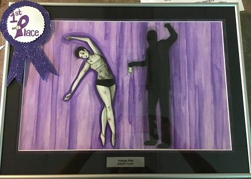 SLHS art student wins 1st place