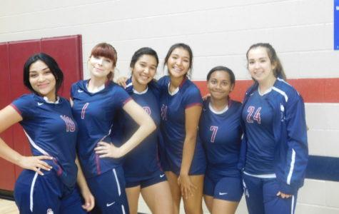 Girls Volleyball Starting Strong