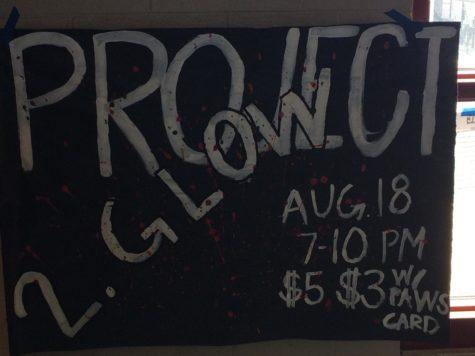 Project 2. Glow Back to School Dance