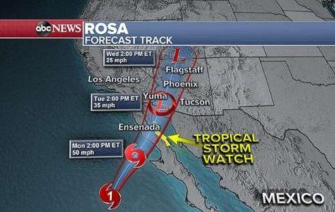 Tropic Storm Rosa